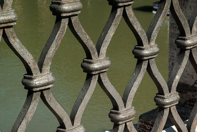 Grid, Protection, Wrought Iron, Barrier