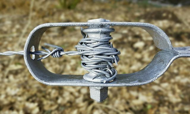 Barbed Wire, Fence, Fencing, Security, Protection, Iron