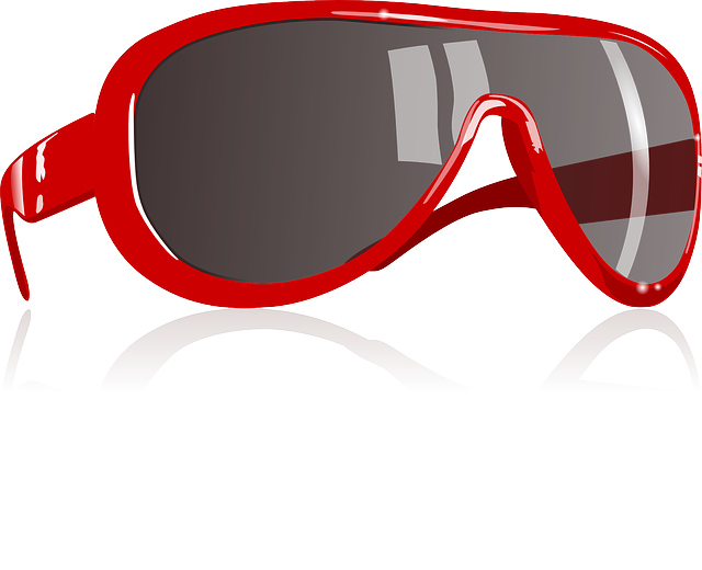 Red, Sunglass, Eyewear, Protective, Eyes, Glasses, Sun