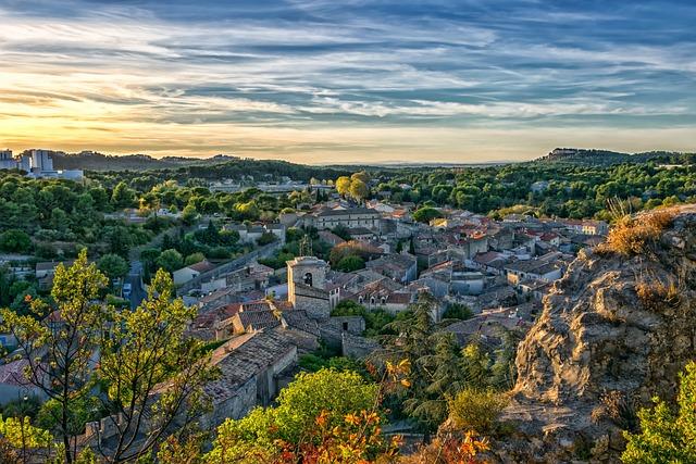 Landscape, France, Provence, Orgone, Mediterranean