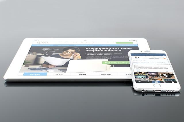Mockup, Psd, Ipad, Iphone, White, Mobile, Web Design