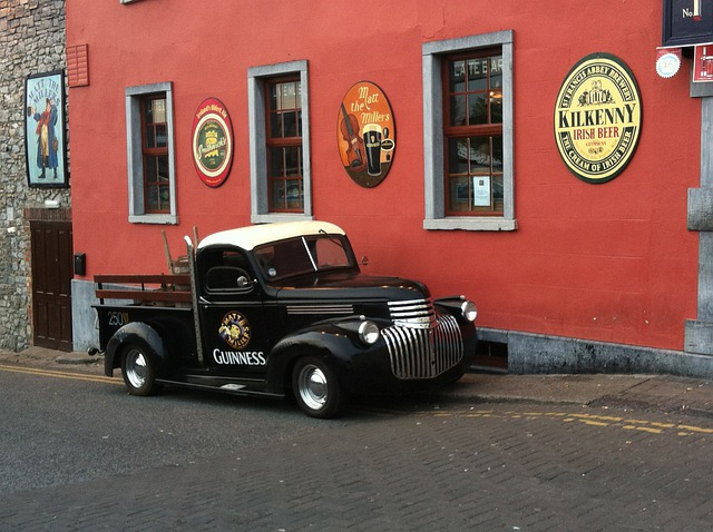 Ireland, Kilkenny, Auto, Guinness, Pub