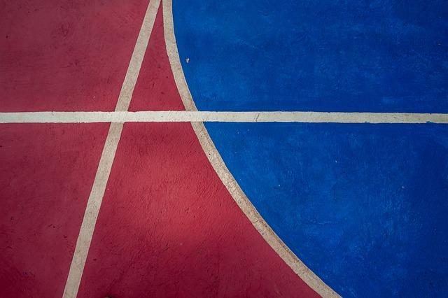 Basketball, Court, Outdoor, Playground, Park, Public