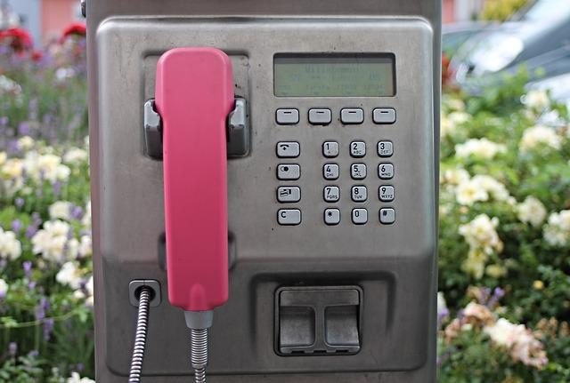 Free photo Public Payphone Slot Coin Phone Booth Telephone - Max Pixel