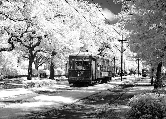 Tram, Usa, Public Personennahverkehr, America