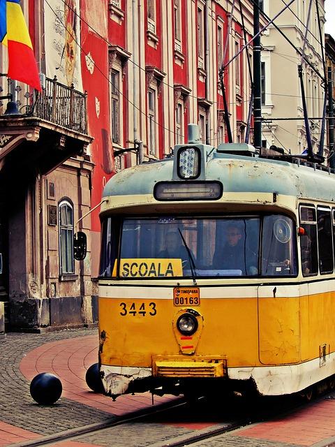 Tram, Timisoara, Romania, Public Transportation