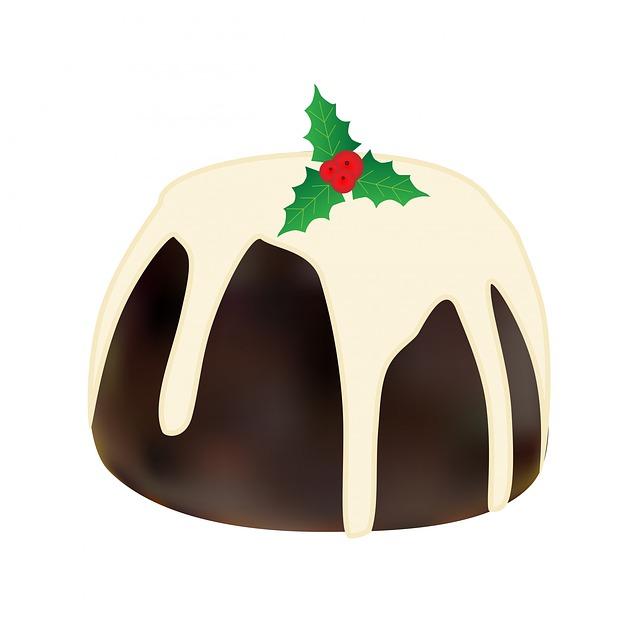 Christmas Pudding, Christmas, Pudding, Desert