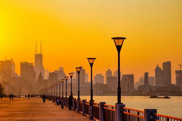 Huangpu River, Pudong, Shanghai, China, Cityscape