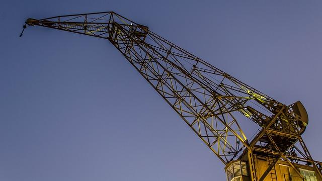 Crane, Puerto Madero, Buenos Aires, Argentina