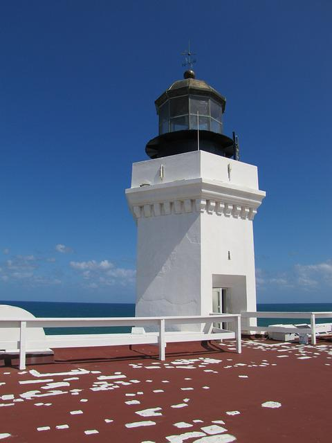 Lighthouse, Landmark, Fajardo, Puerto Rico
