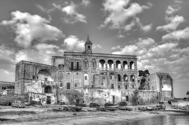 The Abbey Of San Vito, Polignano A Mare, Puglia, Italy