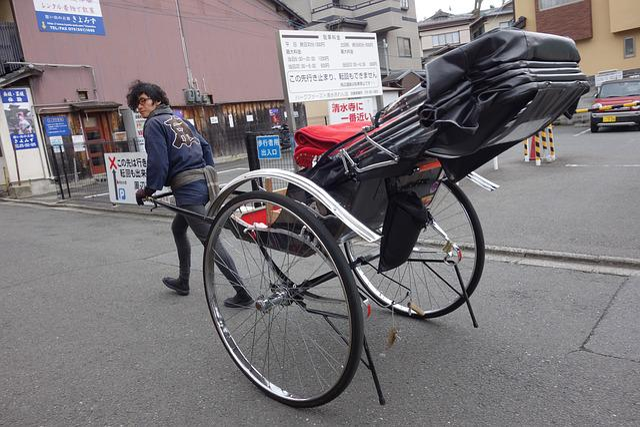 Pull Carts, Rickshaw, Kiyomizu, Kyoto