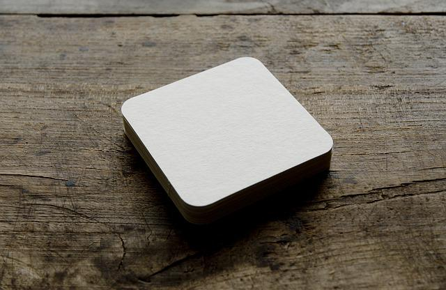 Beer Coasters, Blank, Drink, Table, Paper, Pulpboard
