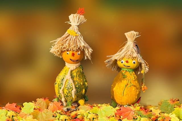 Autumn, Pumpkin Man, Do It Yourself, Funny