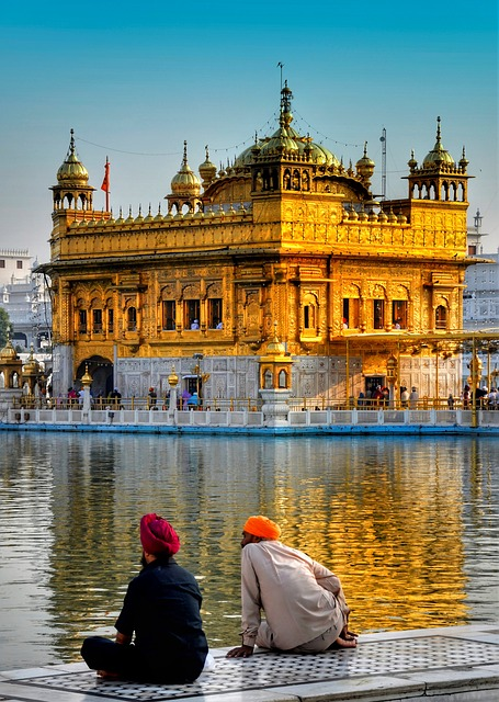 Golden, Temple, Amritsar, Punjab, Sikh, Religion