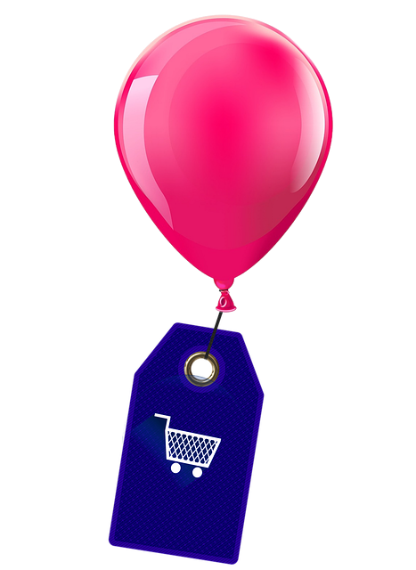 Balloon, Shield, Shopping Cart, Shopping, Purchasing