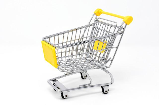 Shopping Cart, Shopping, Purchasing, Candy, Trolley