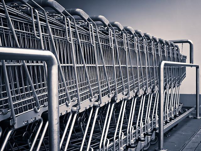 Shopping Cart, Shopping, Supermarket, Purchasing