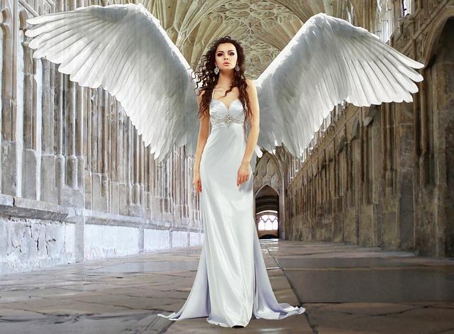 Angel, Virgin, Goddess, Purity, Religion, Symbolism