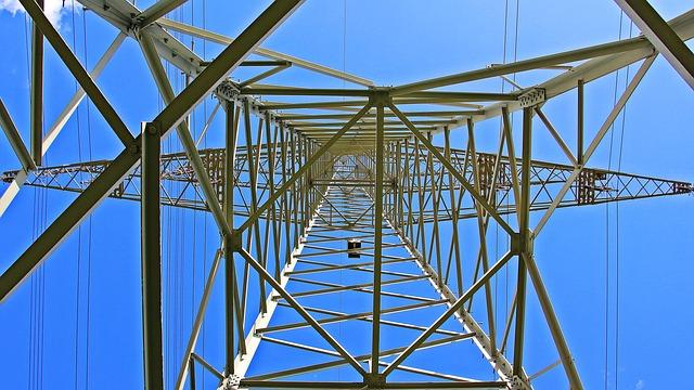 Pylon, Current, Electricity, Strommast, Power Line
