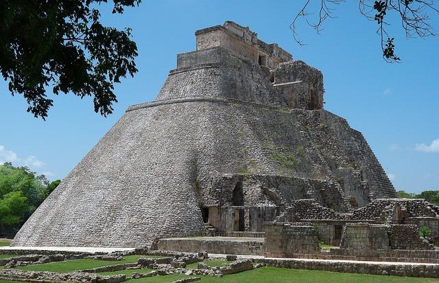 Mexico, Pyramid, Archaeology, Ruins