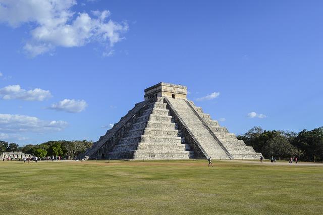 Chichen Itza, Yucatan, Pyramids, Maya, Mexican, Mexico