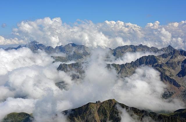 Pyrénées, Mountain, France, Landscape, Summit, Panorama