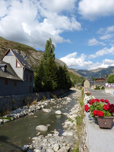 River, People, Beauty, Pyrenees, Val D'aran, Arties