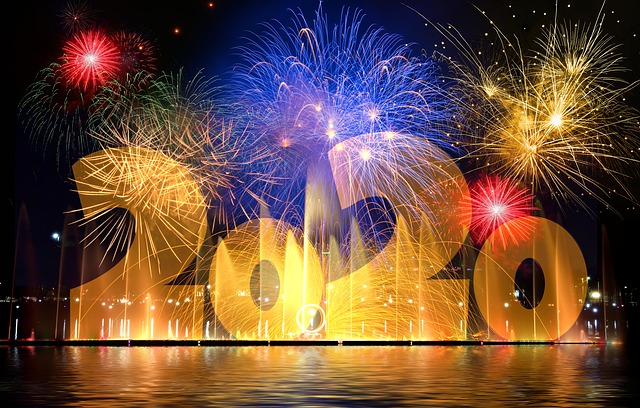 New Year's Eve, Fireworks, New Year's Day, Pyrotechnics