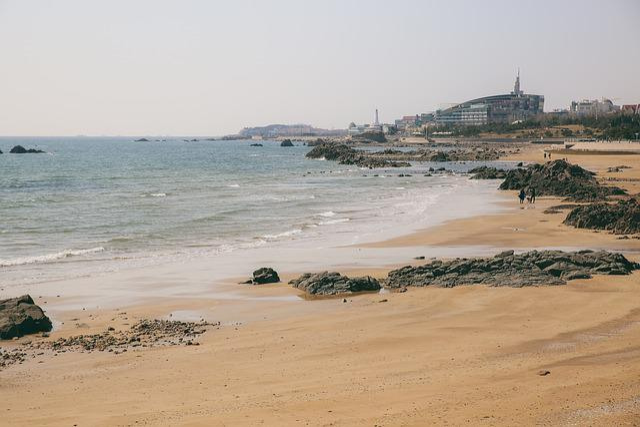 Qingdao, China, Beach, Film