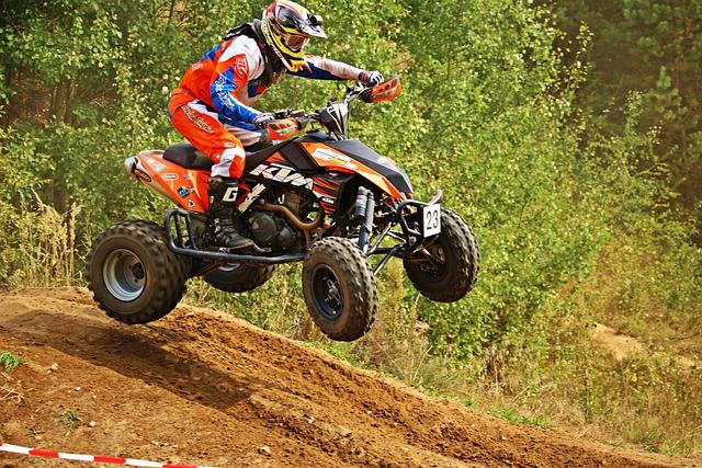 Motocross, Quad, Cross, All-terrain Vehicle, Motorcycle