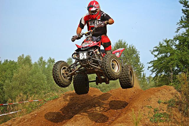 Quad, Cross, Enduro, Motocross, Jump