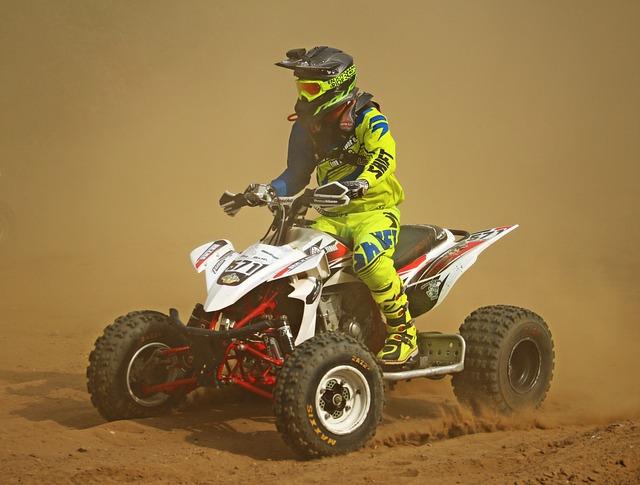 Quad, Cross, Motocross, Enduro, Atv, Sand, Motorcycle
