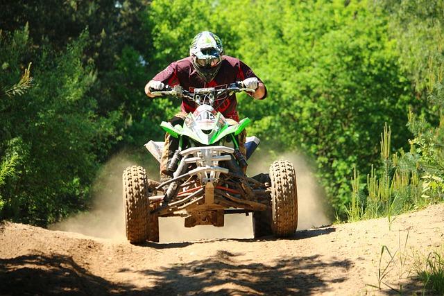 Quad, Atv, Motocross, Motorcycle, All-terrain Vehicle