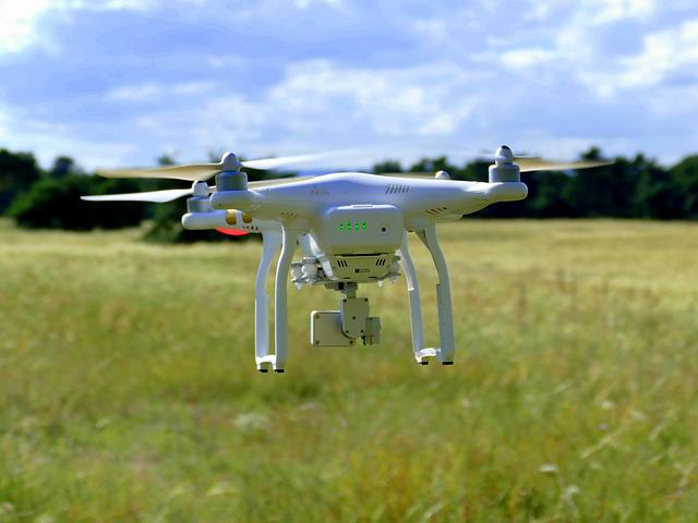 Drone, Aircraft, Fly, Flight, Rotor Blades, Quadcopter