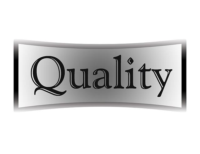 Quality, Quality Control, Black, White, Gray, Button