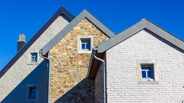 Homes, Quarry Stone, Wall, Roofs, Shadow, Natural Stone