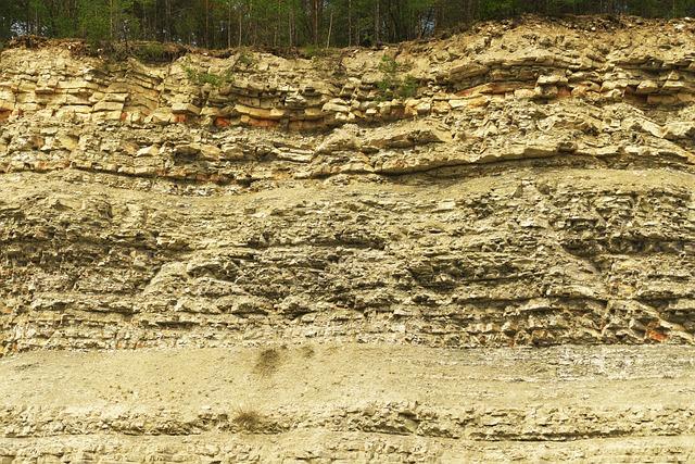 Quarry, Abandoned, Leave, Limestone, Weathered
