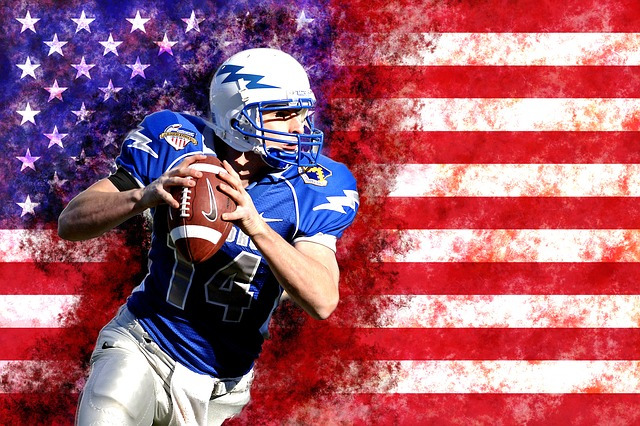 Usa, American Football, Quarterback