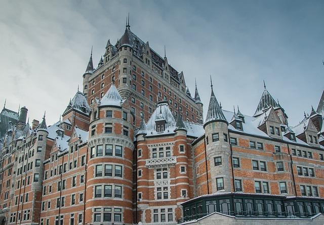 Québec, Château Frontenac, Architecture