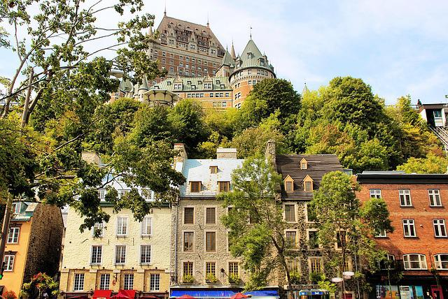 Canada, Quebec, Old Quebec, Frontenac, Castle