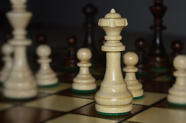 Chess, Queen, Pawn, Knight