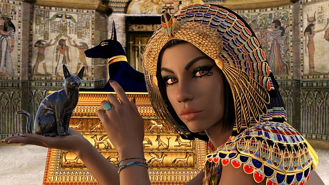 Egypt, Woman, Queen, Nefertiti, Cleopatra, Anubis, Isis