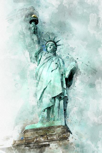 Queen Of Liberty, Statue Of Liberty, New York