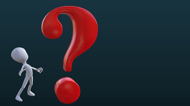 Person, Question Mark, Red, Desktop