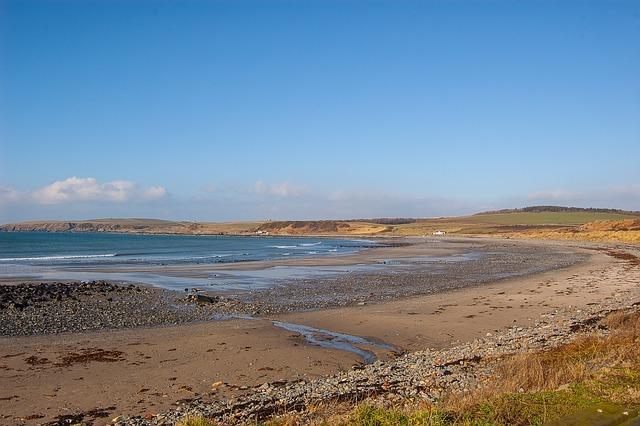 Beach, Scotland, Dumfries And Galloway, Quiet Beach