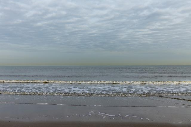 Beach, Sea, Quiet, Morning Sun, Clouds, Coast