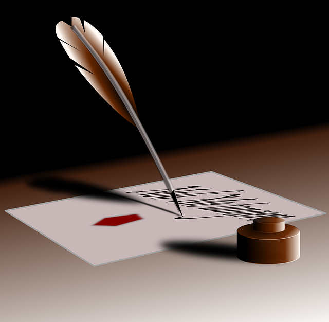 Quill, Pen, Write, Author, Ink, Feather, Paper, Old