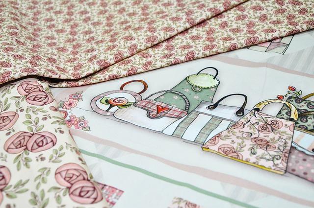 Patchwork, Tissue, Manual, Crafts, Quilt