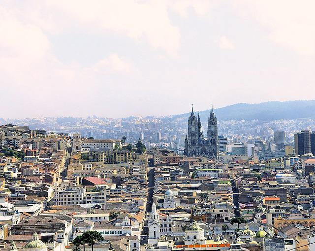 Ecuador, Quito, City, Panorama, Landscape, Urban